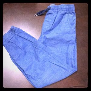 Boys size 10/12 old navy linen pants